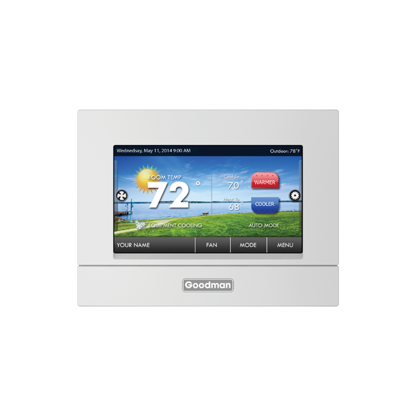 Display Residential Digital Thermostat Wi-Fi capable