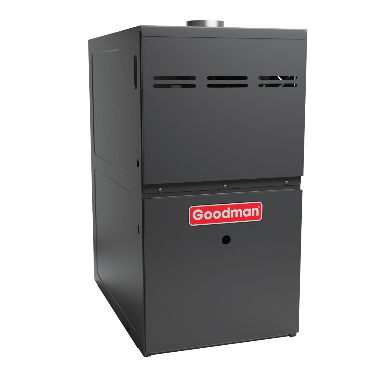 gas furnaces by goodman air conditioning heating the 80% afue rating on this gas furnace means that 80 cents of every energy dollar warms your home