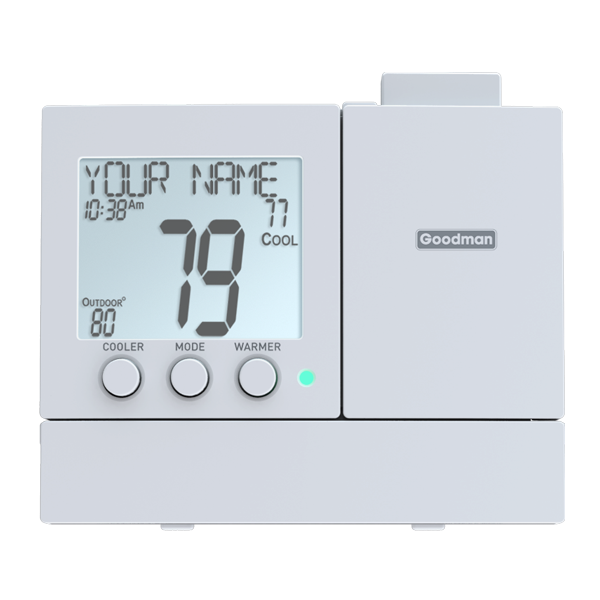 Value Series Thermostatss from Goodman